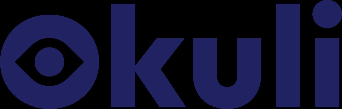 Logo Okuli - bleu